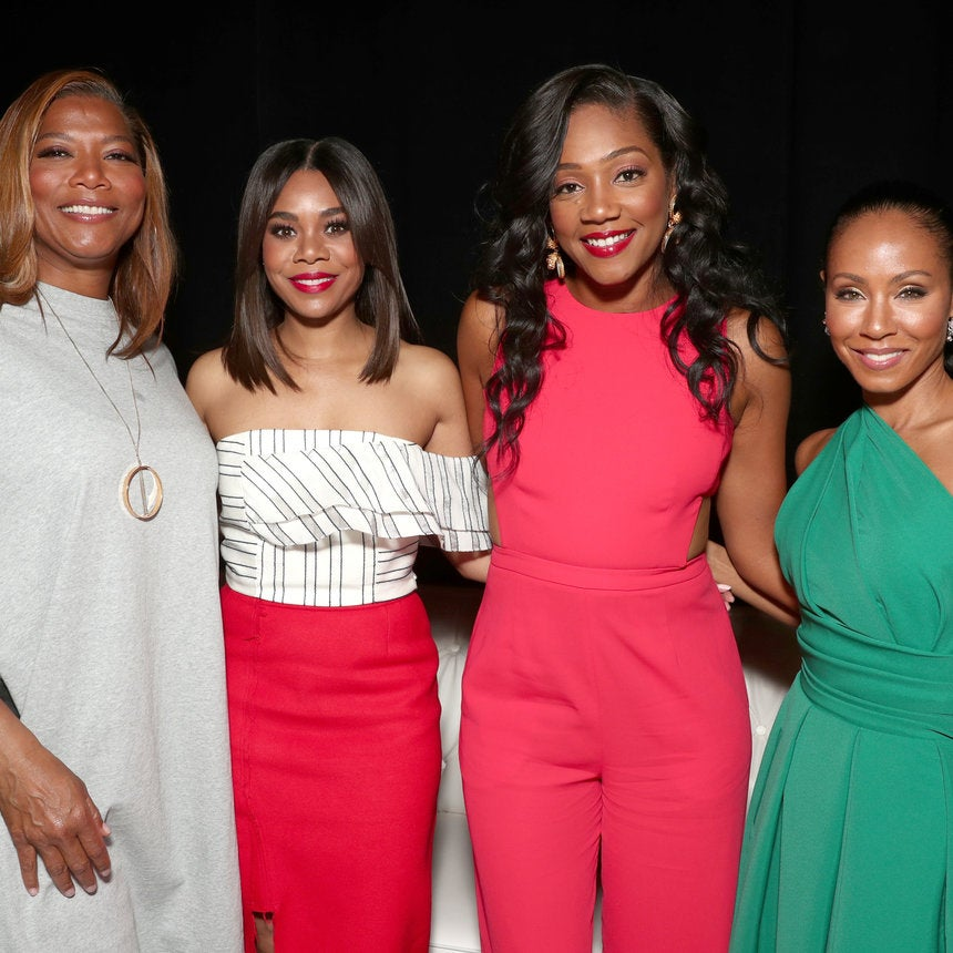 The Lovely Ladies Of The ESSENCE Fest-Inspired Film 'Girls Trip' Link Up At CinemaCon