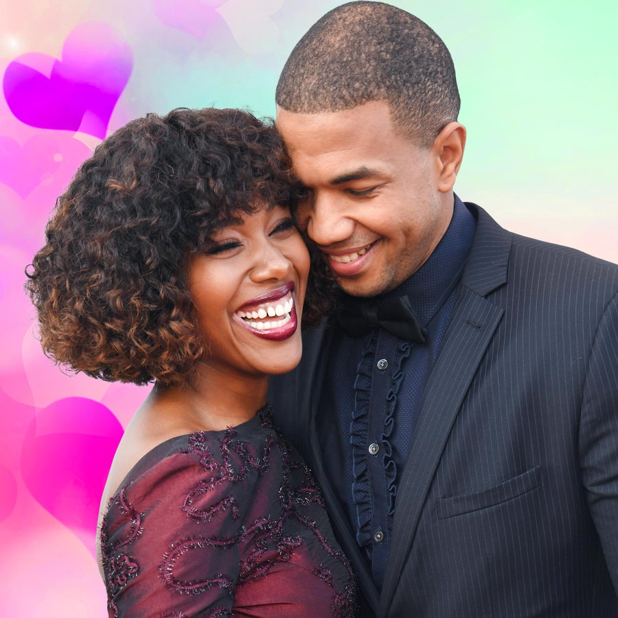'Underground' Star Alano Miller Can't Get Enough Of His Wife DeWanda Wise's Beauty