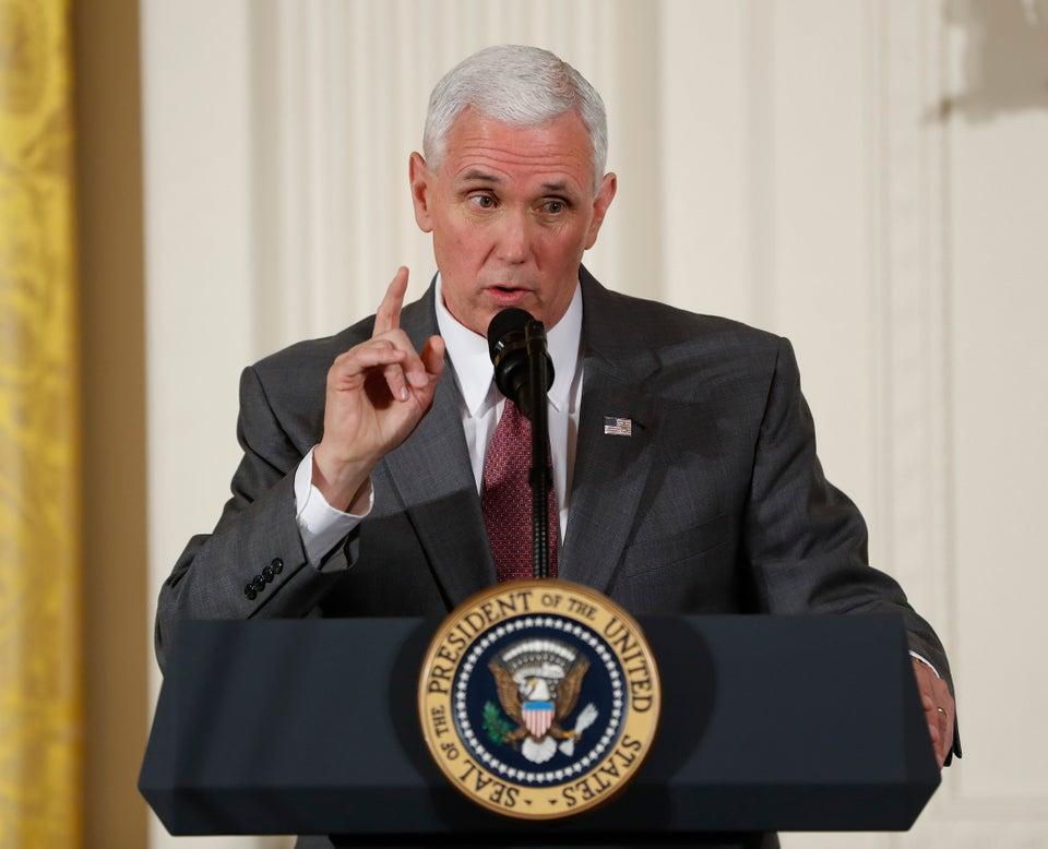Vice President Pence Breaks Tie In Vote That Cuts Millions In Planned Parenthood Funding