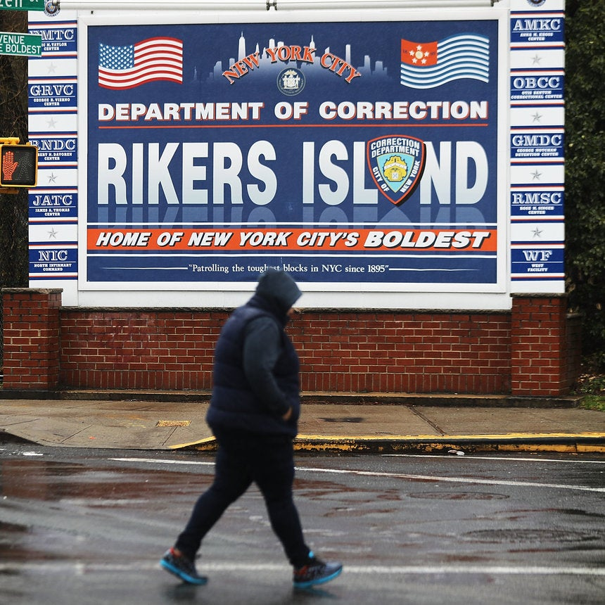 NYC Mayor Bill de Blasio Wants To Close Rikers Island. But It'll Take Some Time
