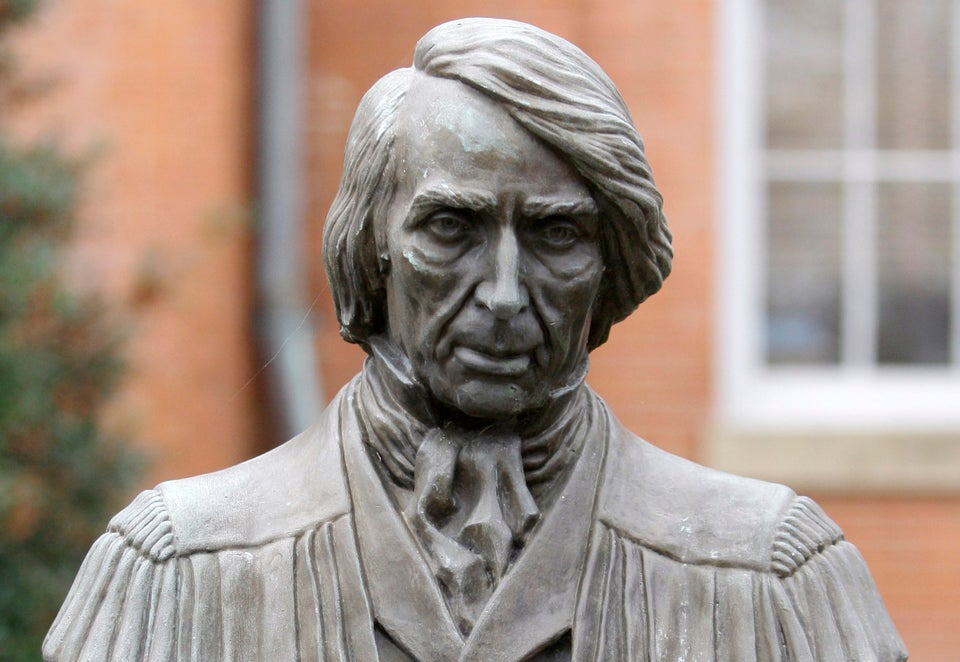 Maryland City To Remove Statue Of Supreme Court Justice Who Said Slaves Weren't Citizens