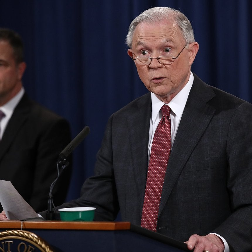 AG Jeff Sessions Just Made The First Move To Absolve Police Departments Of Accountability
