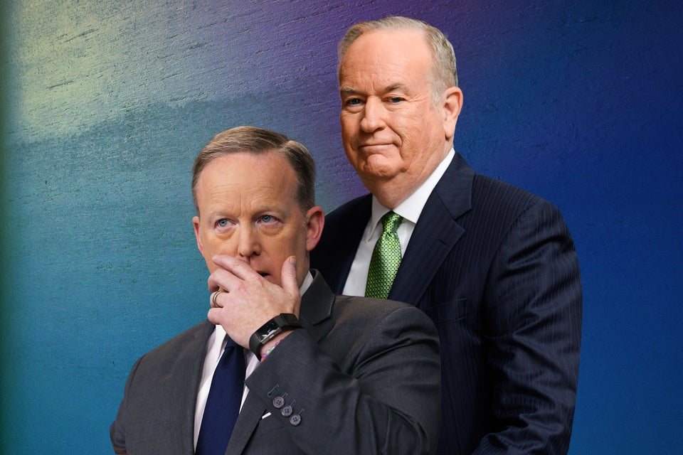 OPINION: Sean Spicer and Bill O'Reilly Represent All The White Men I've Ever Worked With