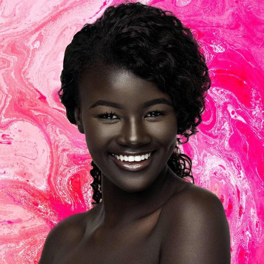 Model Khoudia Diop aka 'Melanin Goddess' Has Some Very Good Advice For Her Younger Self