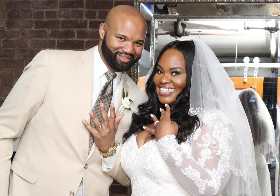 EXCLUSIVE: Super Sweet Photos From Gospel Singer Tasha Cobbs' Surprise Wedding