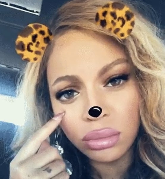 Beyonce Continues To Tease Her Secret Snapchat