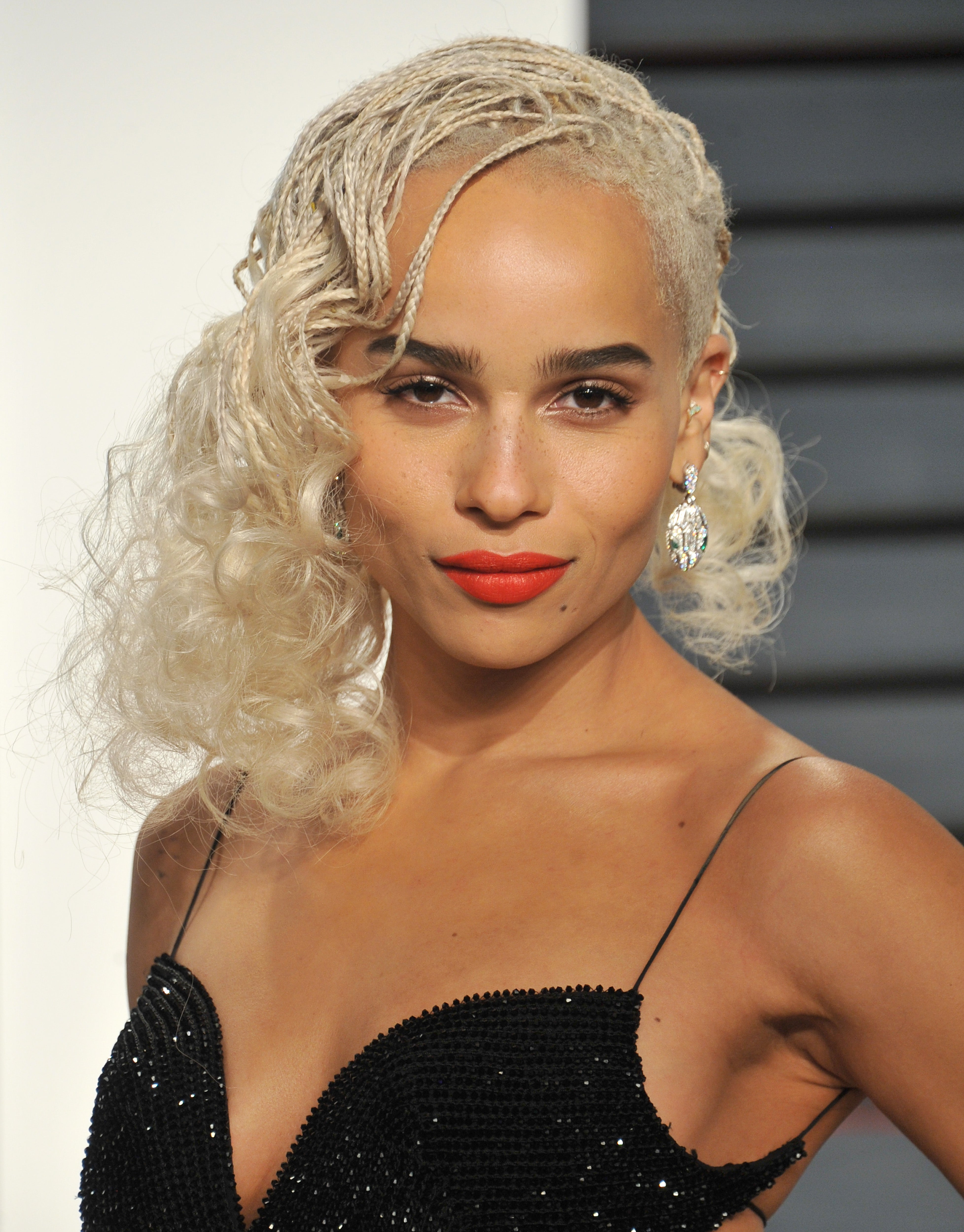 Zoe Kravitz Just Chopped Off Her Braids and Looks Gorgeous, Obvs