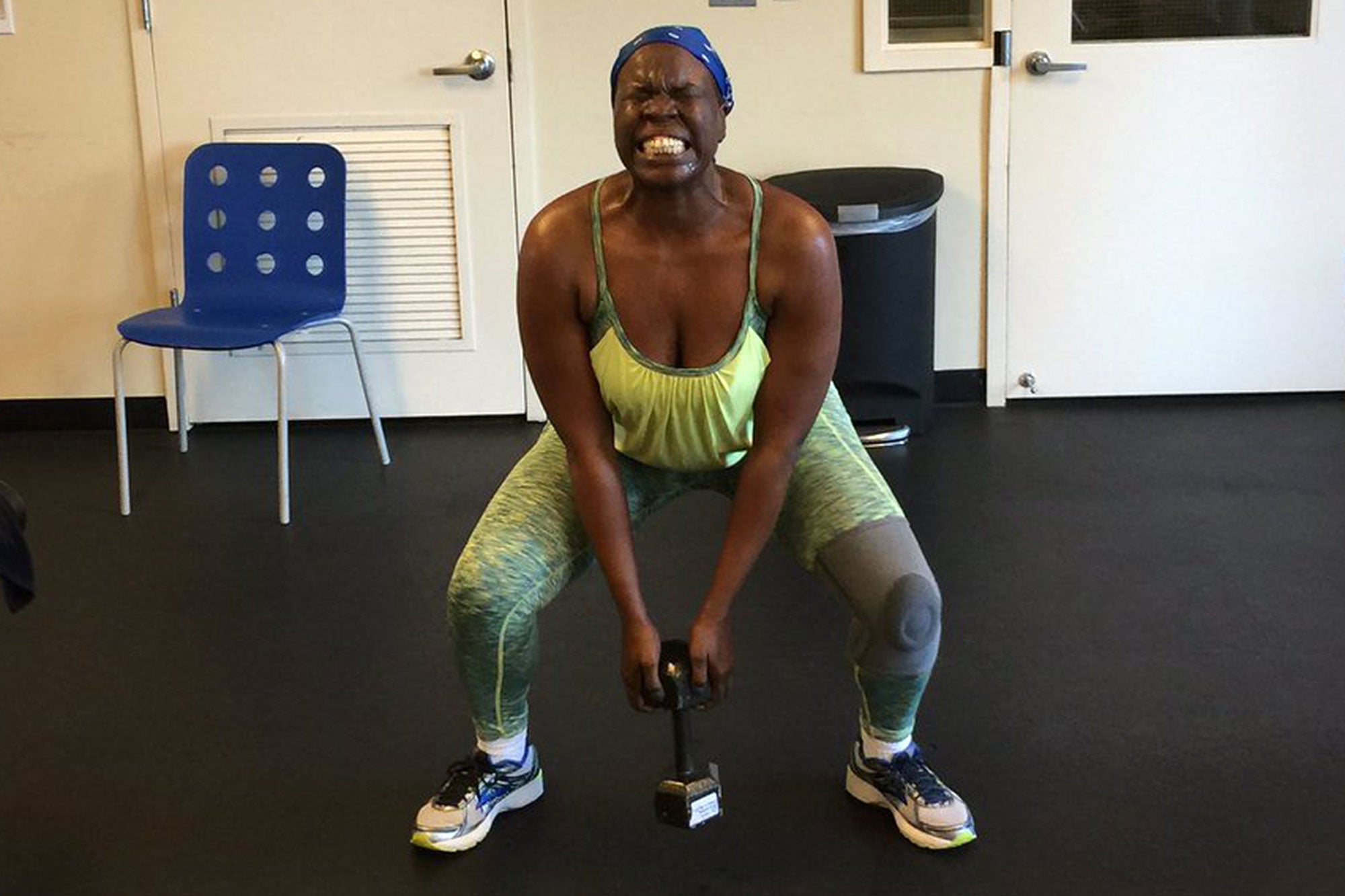 Leslie Jones Jokes That Her Trainer 'Tried To Kill Me' During An Intense Workout Session