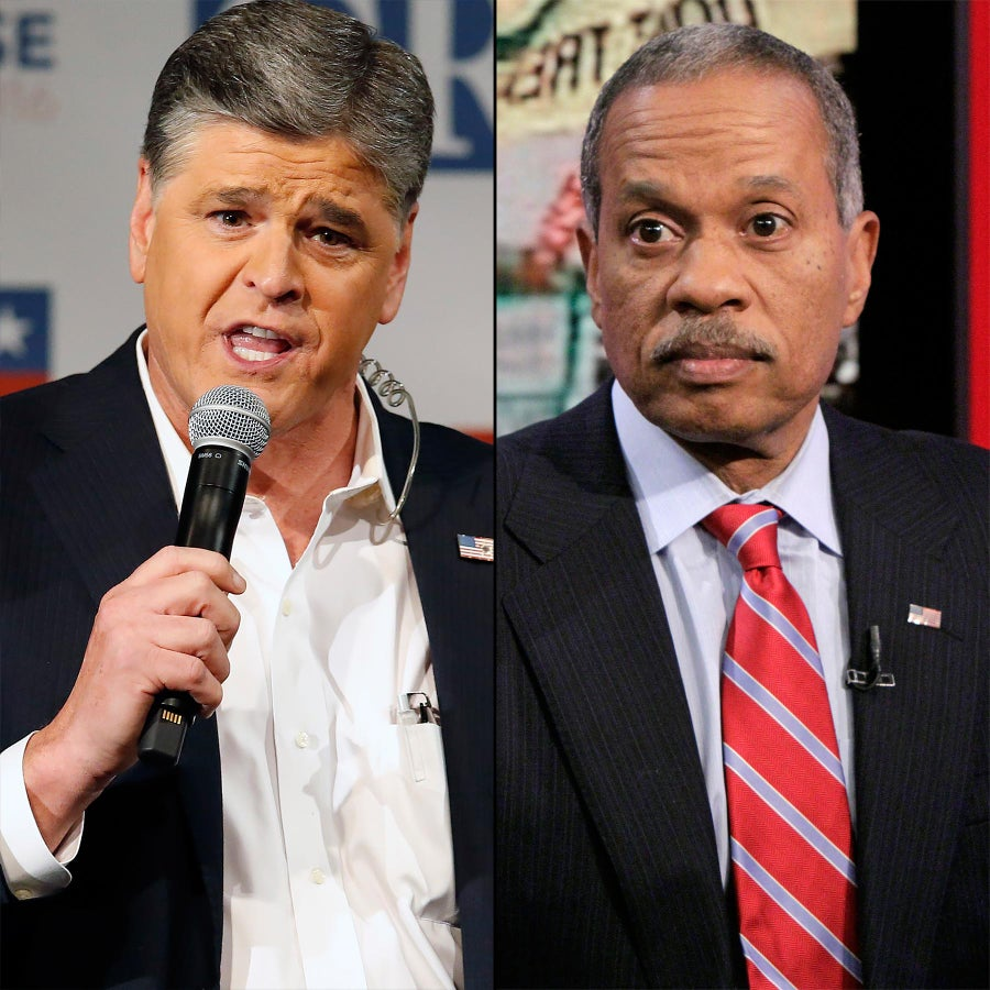 Sean Hannity downplays report he pointed gun at Juan Williams