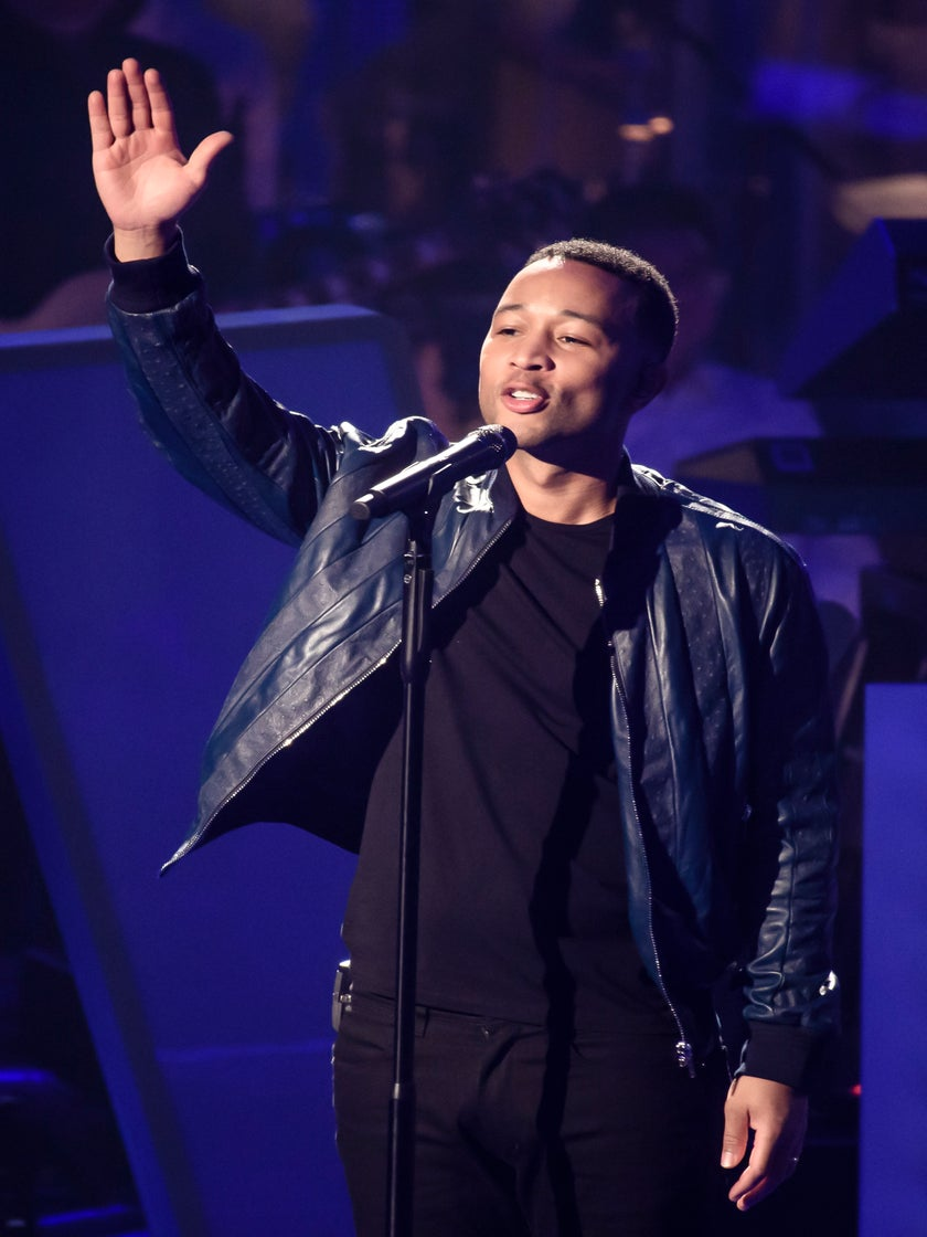 John Legend Says Donald Trump Is 'Corrupt' And 'A Terrible President'