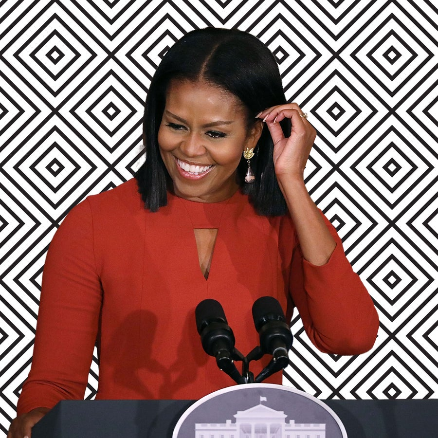 Michelle Obama's Hairstylist Says The Former First Lady Has 'Always Embraced' Her Natural Hair