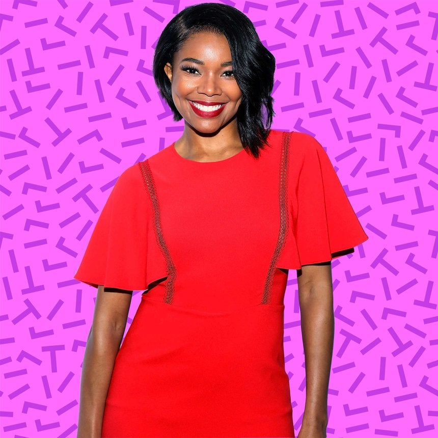 Gabrielle Union Steps Into Spring With 'Flawless' Curls and A Fly Jumpsuit
