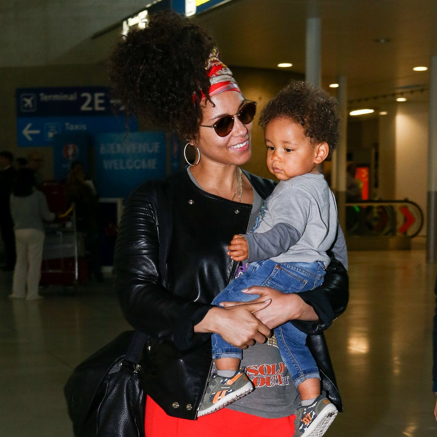 Alicia Keys and Swizz Beatz's 2-Year-Old Son Is Already A Beatboxing Pro