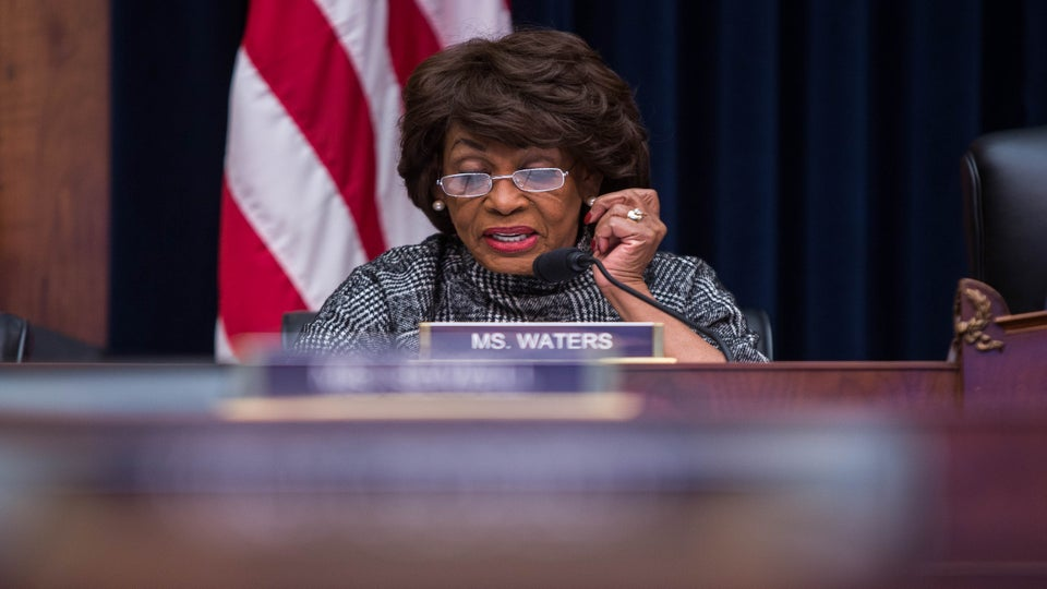 Rep. Maxine Waters: Bill O'Reilly Belongs In Prison, He And President Trump Are 'Two Of A Kind'