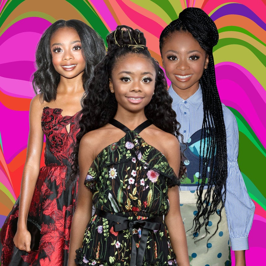 25 Photos That Prove Skai Jackson Is The Ultimate Hair Chameleon