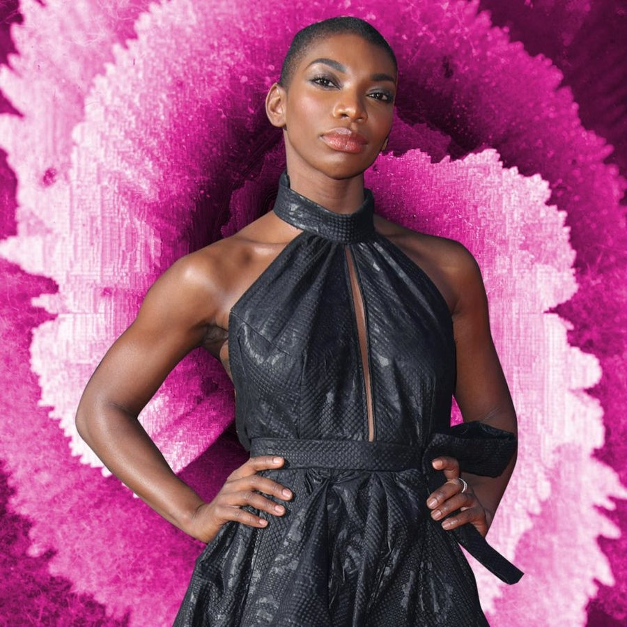 Michaela Coel Flaunts Her Badass Haircut at the 2017 Olivier Awards