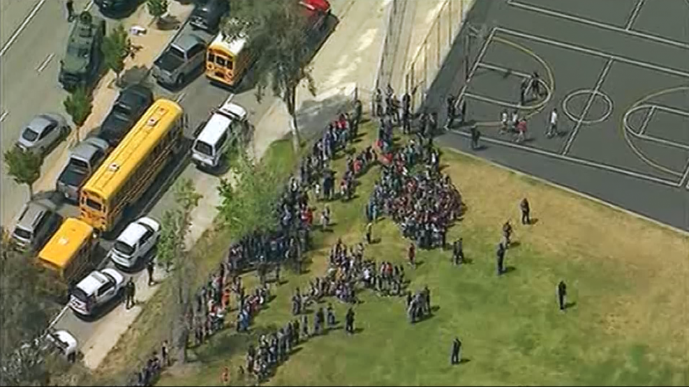 Two Reported Dead In San Bernardino Elementary School Shooting