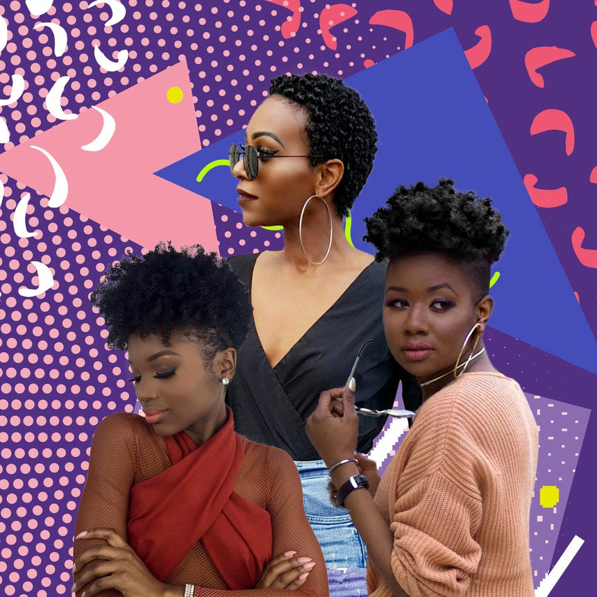 Hairstyle Ideas For Short Natural Hair - Essence