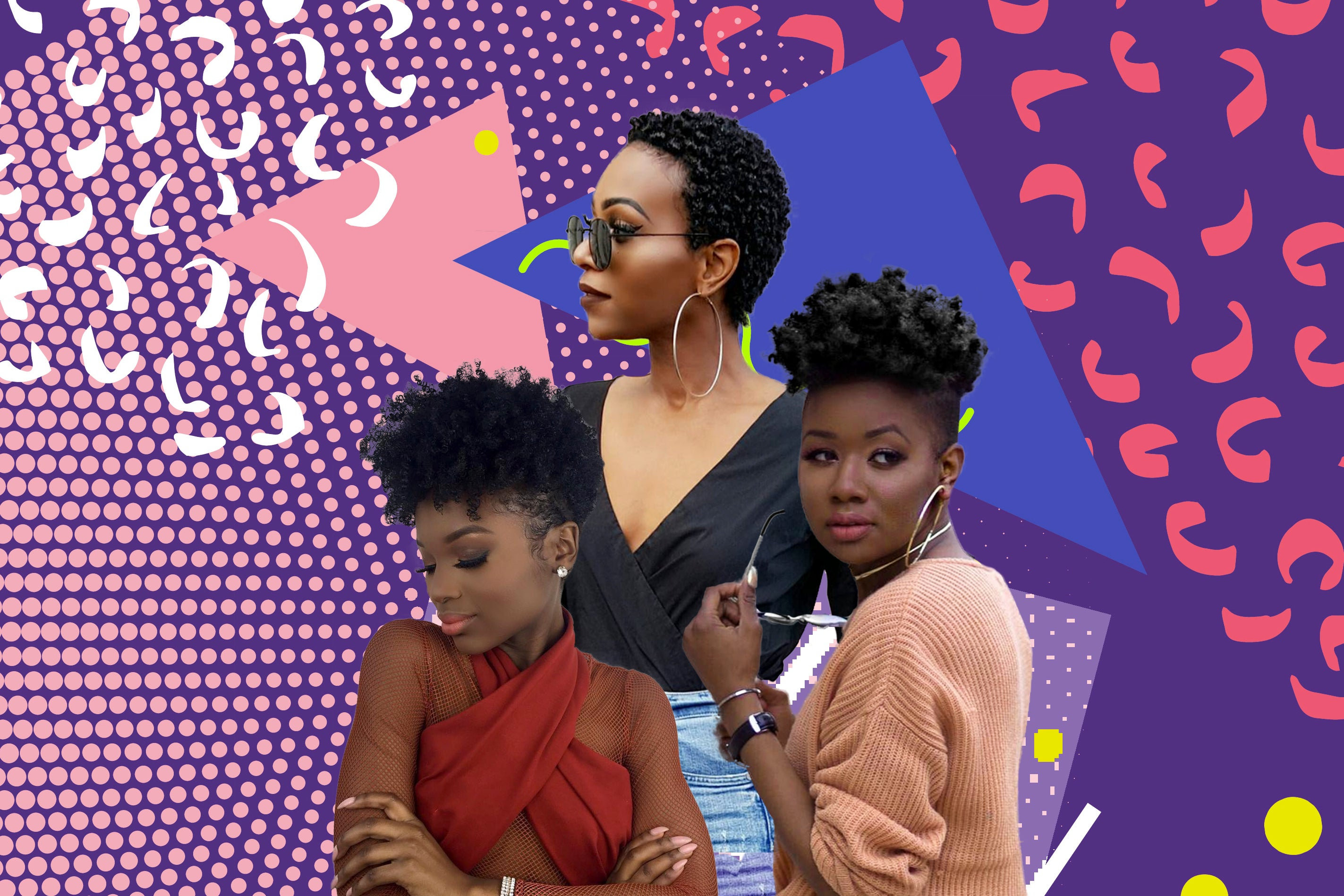21 Hairstyle Ideas For Short Natural Hair