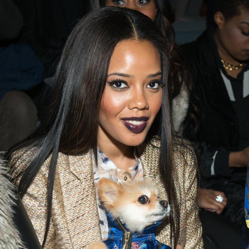 Angela Simmons Puts Her Own Fabulous Spin On The Rapunzel Hair Trend