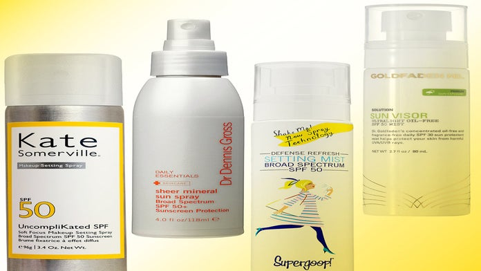 7 Sunscreen Mists That Won't Smear Your Makeup