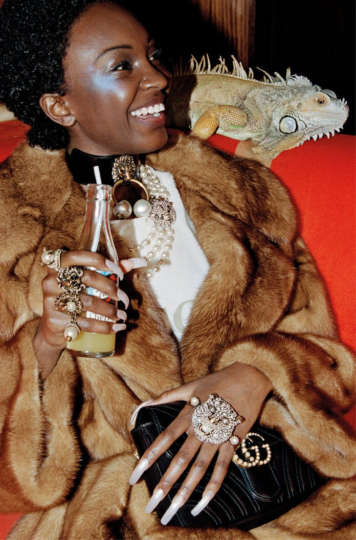 Why We're So Here for This Extra Black Gucci Campaign