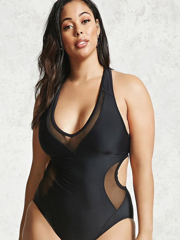 Forever 21 Plus Size Relaunch Definitely Has the Best Swimsuits