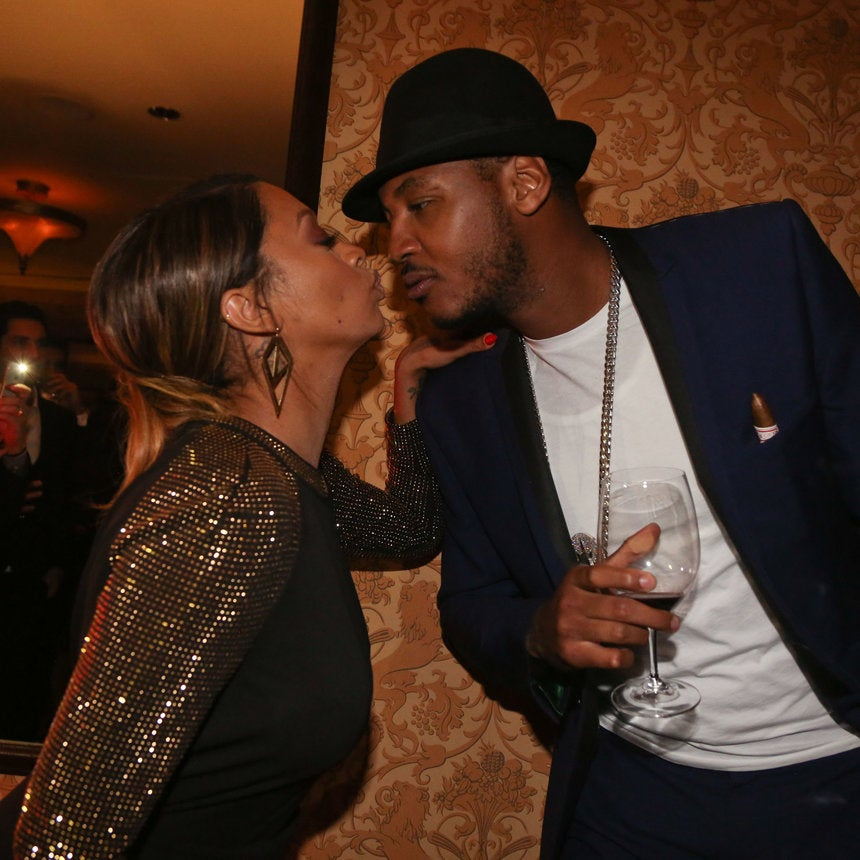 A Look Back At La La And Carmelo Anthony During Happier Times