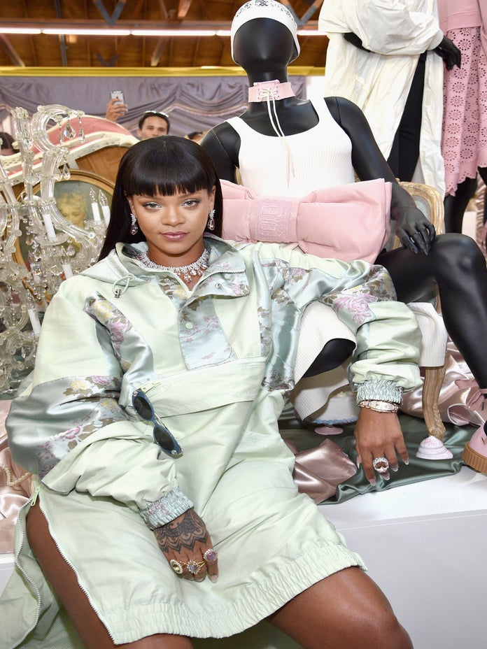 Rihanna Debuts FENTY x PUMA Jelly Slides Just in Time for Summer