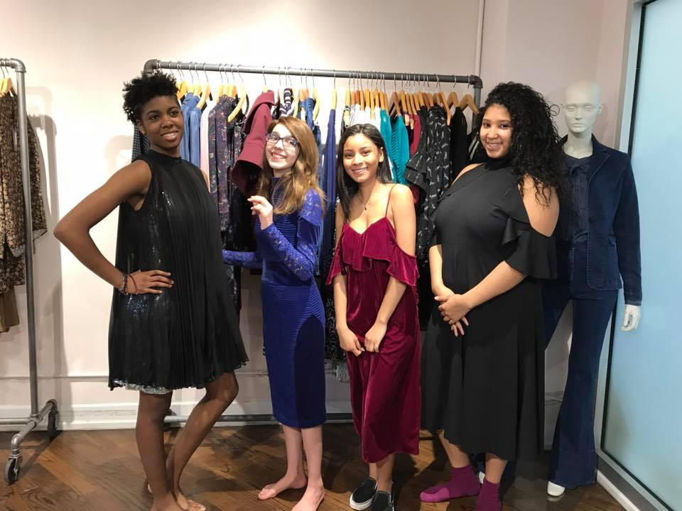 Tracey Reese and Model Damaris Lewis Help Teens Get Fabulous For Prom
