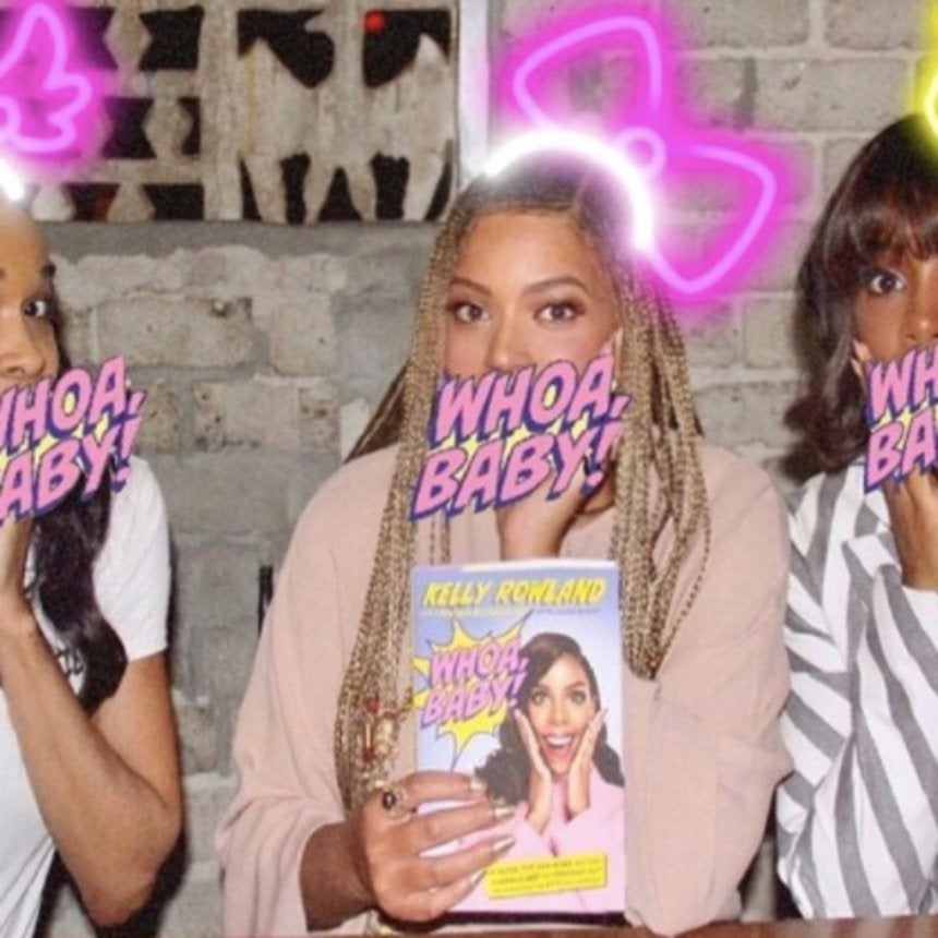 Destiny's Child Reunite For Kelly Rowland's Book Launch