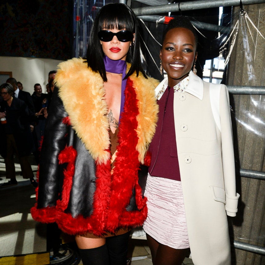 We'd Definitely Go See This Rihanna And Lupita Nyong'o Film The Internet Dreamt Up