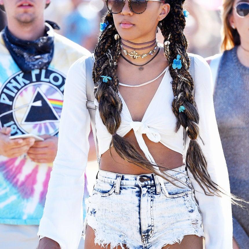 Carefree Black Girls' Style Reigned Supreme at Coachella 2017