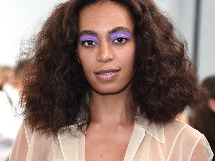37 Wedding Hairstyles For Black Women To Drool Over 2017: Solange Knowles Urban Decay Makeup Routine
