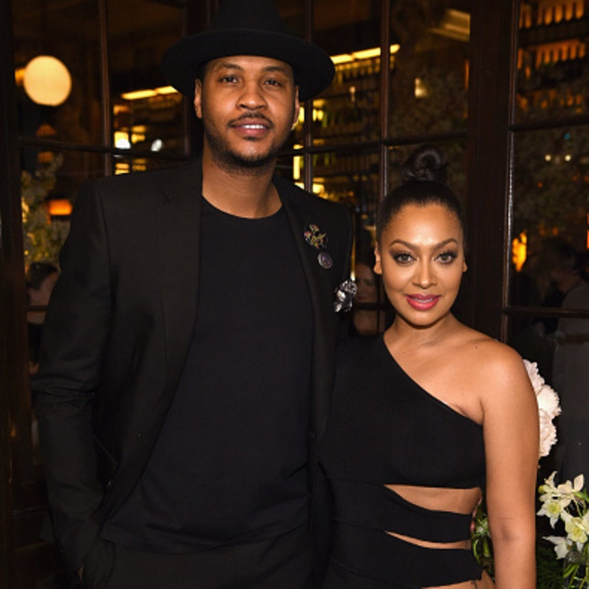 La La and Carmelo Anthony Reunite For Mother's Day Amid Separation Rumors