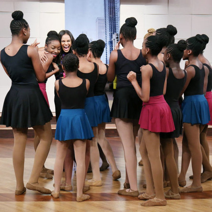 Watch These Young Black Ballerinas' Emotional Response To Meeting Misty Copeland