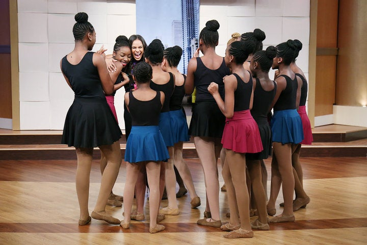 Watch Misty Copeland Surprise These Young Black Ballerinas And Their Emotional Response
