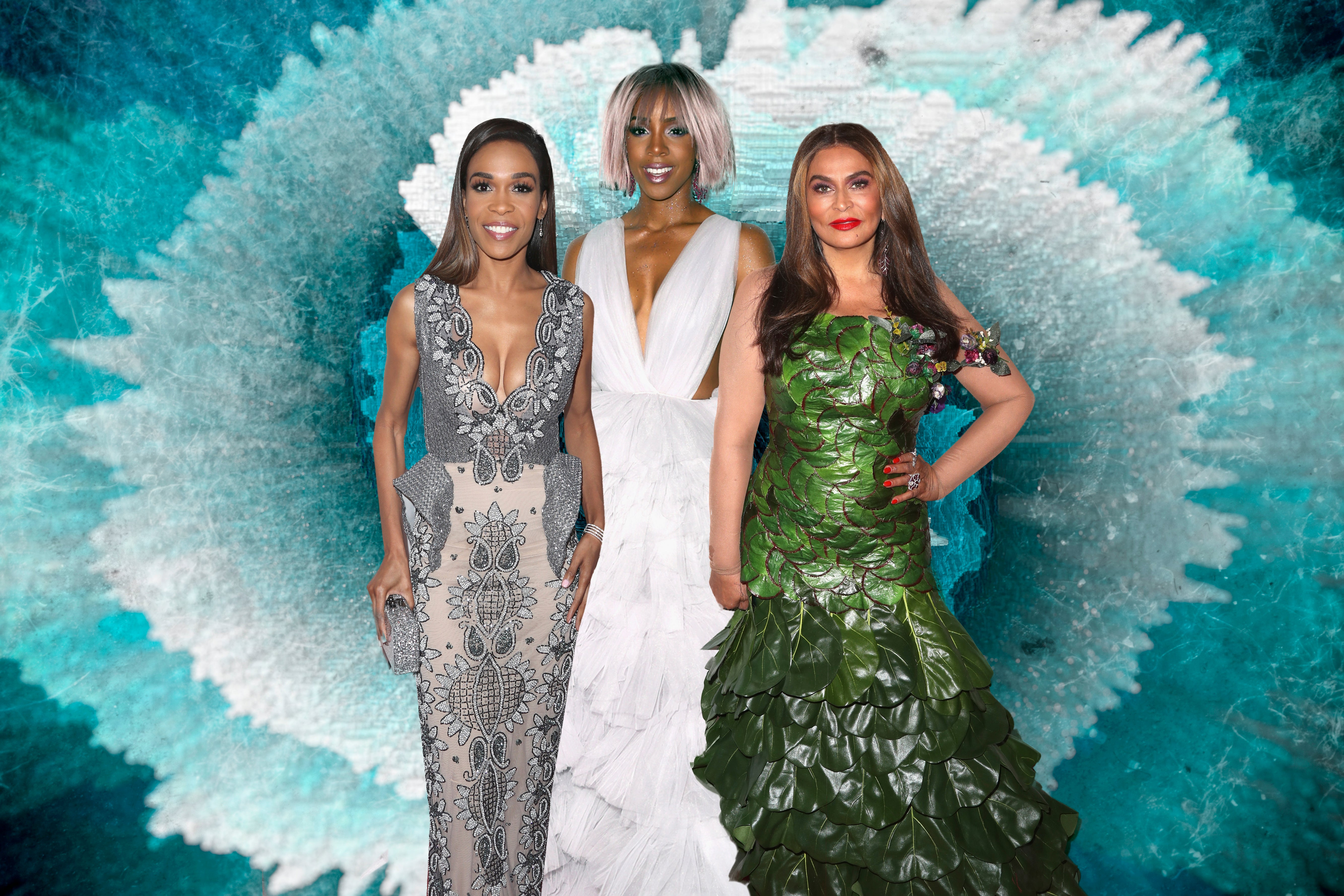 Beyonce, Jay Z, Blue, Solange Support Miss Tina at Wearable Art Gala