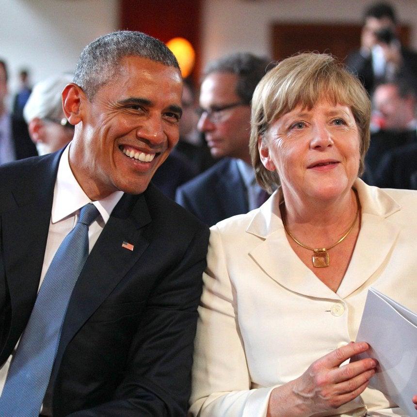 Barack Obama Will Give His First Post-White House Talk Alongside Angela Merkel