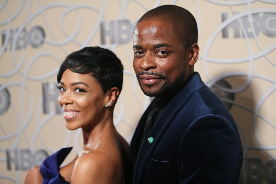 'West Wing' Star Dulé Hill And 'Ballers' Actress Jazmyn Simon Are Engaged!