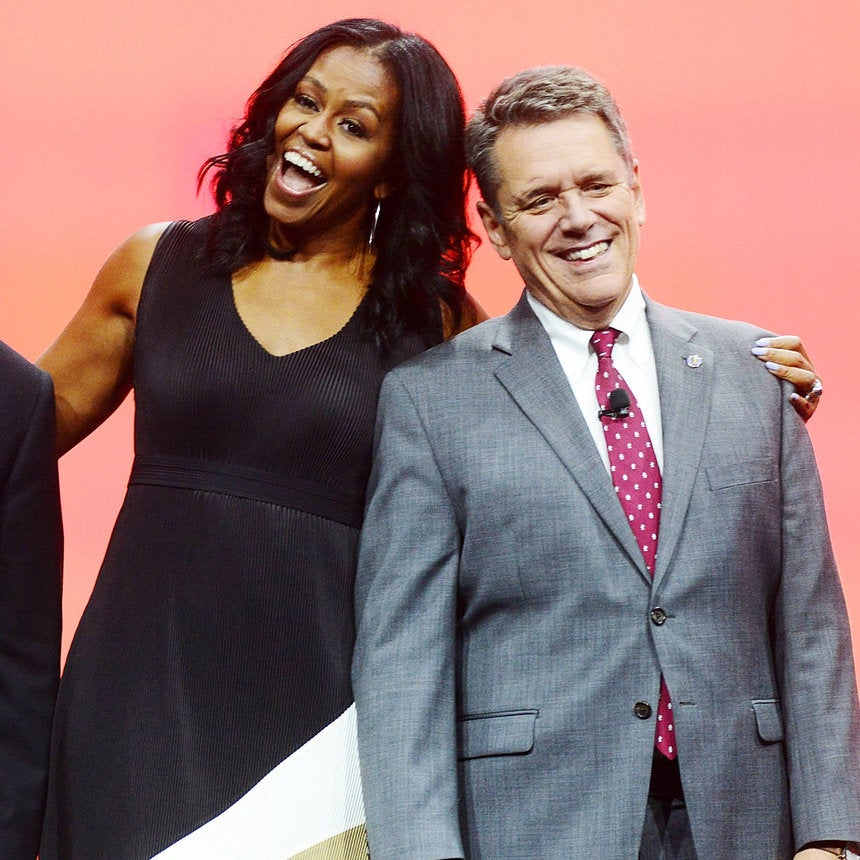 Michelle Obama Looks Amazing as Ever During Her First Public Appearance Since The Inauguration