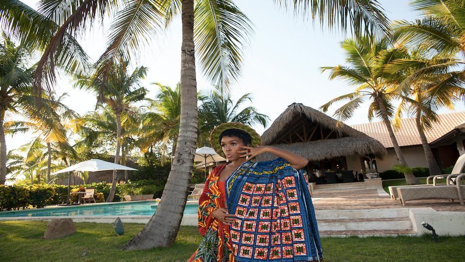Inside Janelle Monae's $20,000-Per-Week Vacation Villa In Punta Cana