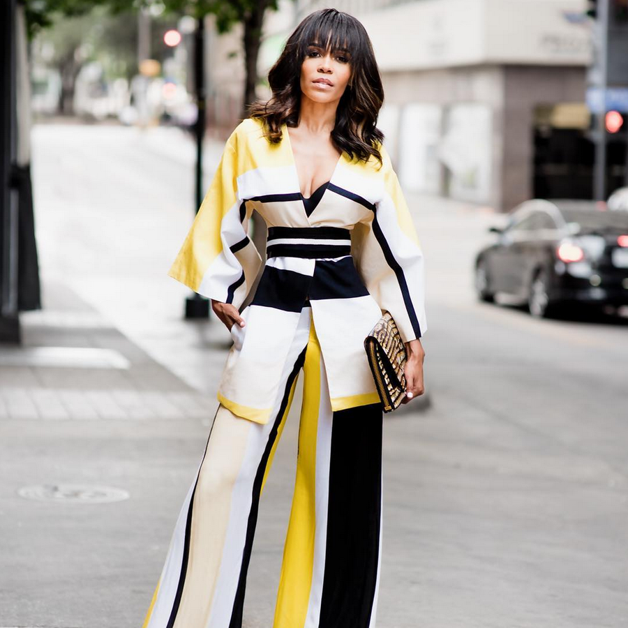 Wait a Minute! Michelle Williams is Giving Life in This Killer Two-Piece Ensemble