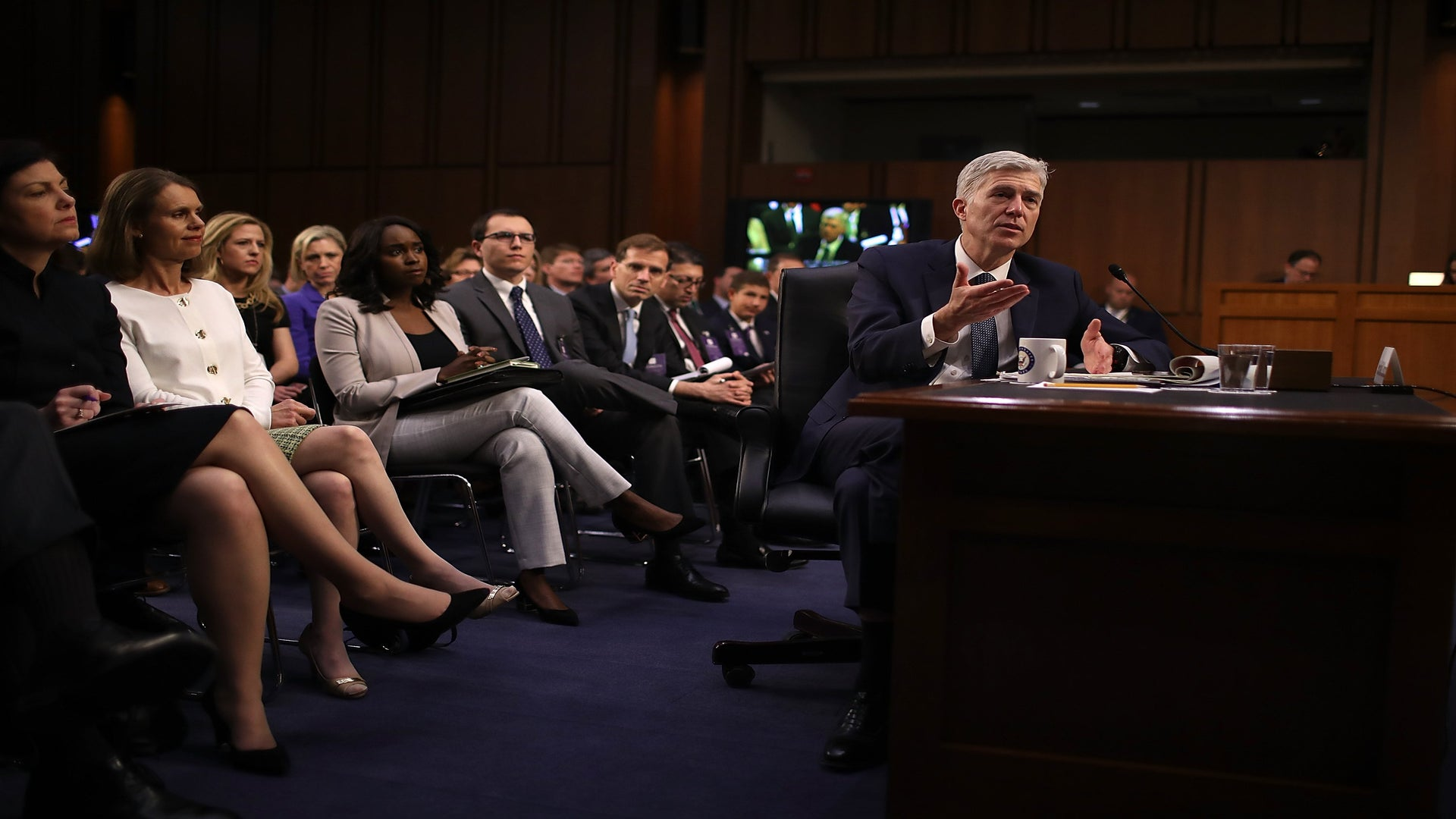 Republicans Might Use The 'Nuclear Option' ToConfirm Neil Gorsuch. What's That?