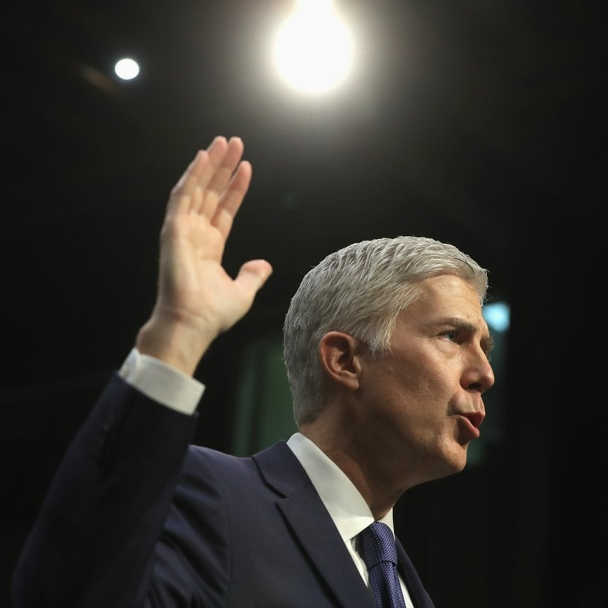 Neil Gorsuch Sworn In As Newest Supreme Court Justice