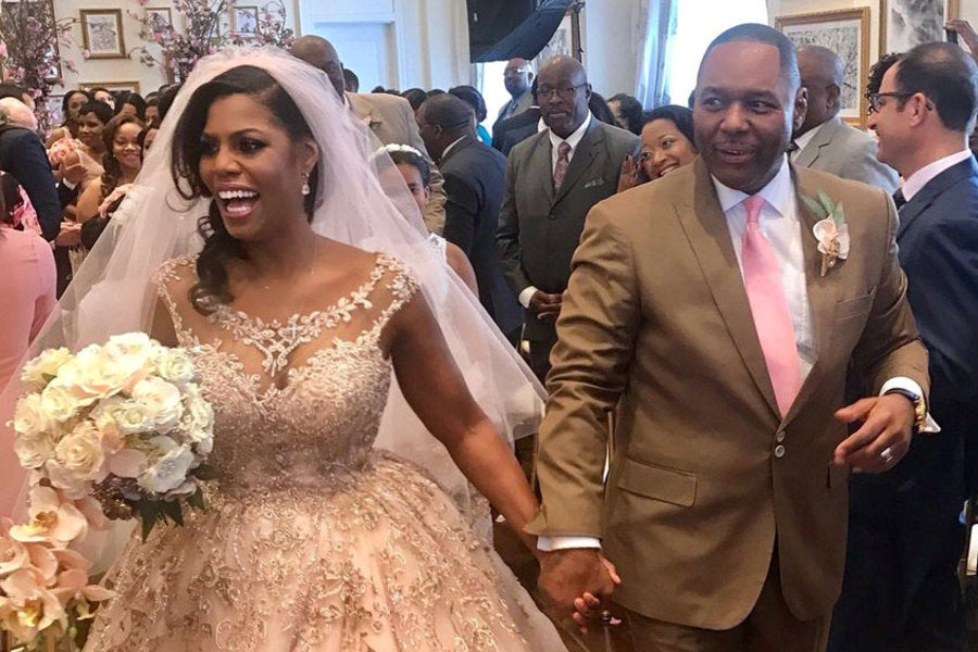 Here Are Details From Omarosa's Dream Blush Wedding - Essence