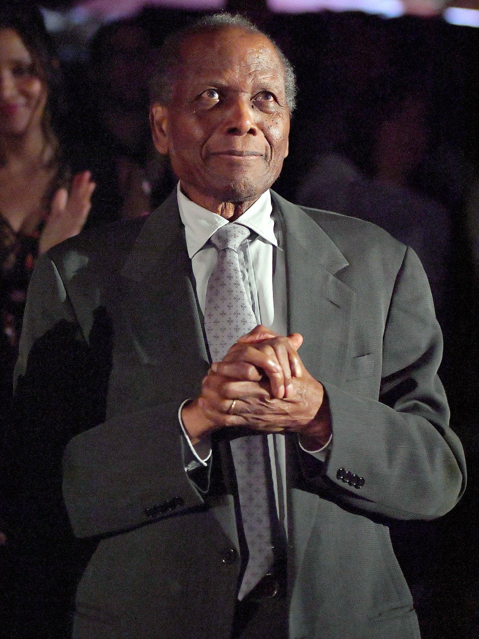 Hollywood Icon Sidney Poitier Makes Rare Public Appearance as TCM Celebrates In the Heat of the Night's 50th Anniversary