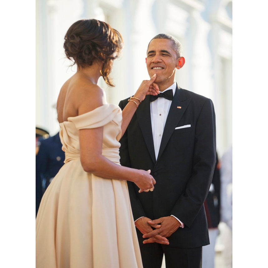 This Photo Captures Barack Obama's Admiration for Michelle Like No Words Ever Could