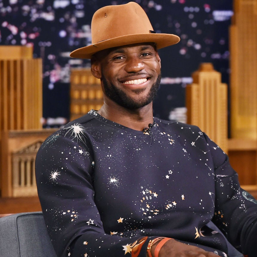 Here's A Hilarious Video Of LeBron James Schooling Kids At His Son's Birthday Party