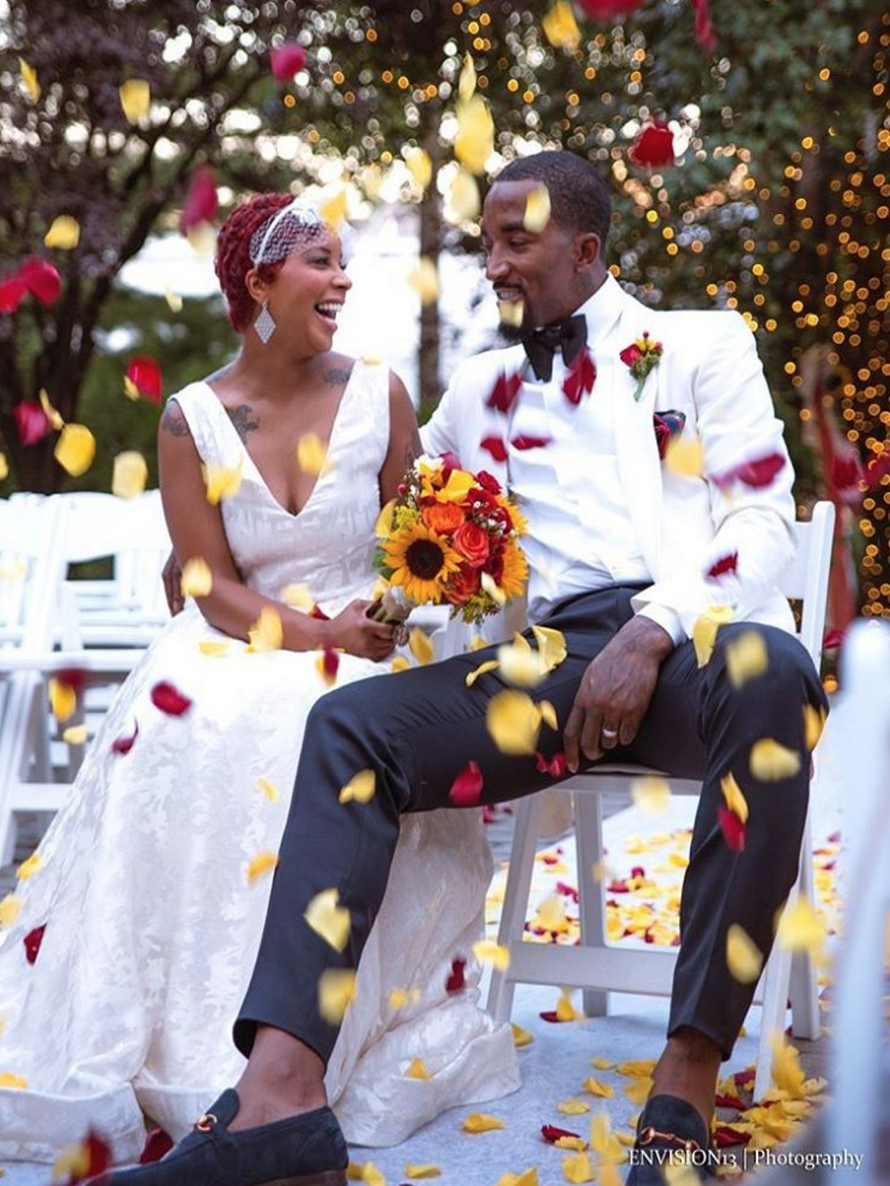 NBA Player J.R. Smith's Wife Writes Touching Blog To Thank Him For His Love